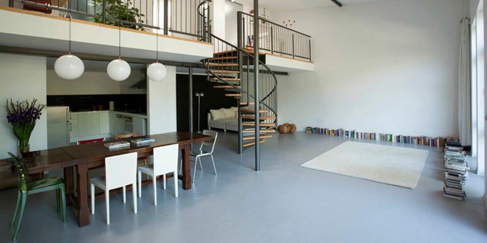 Gietvloer doe het zelf gietvloer zelf doen for Piccoli piani di casa con piano piano aperto
